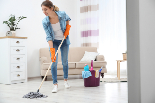 How do you finish household chores fast