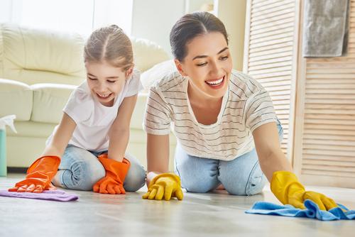 How do you organize household daily chores