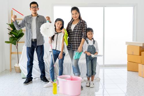 How do you split household tasks