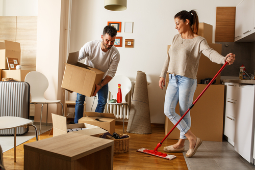 How much does move in cleaning cost