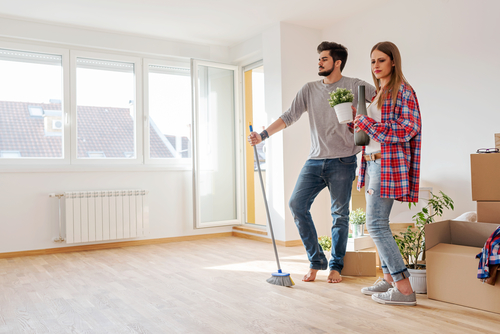 Should a rental property be clean when you move in