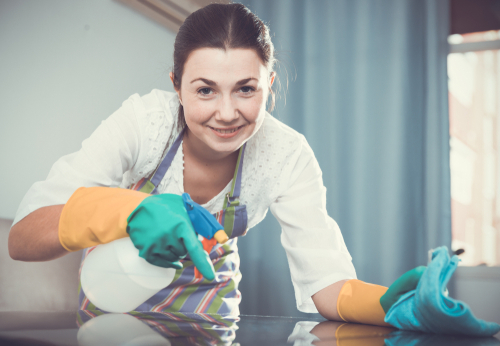 Should you hire a cleaning lady