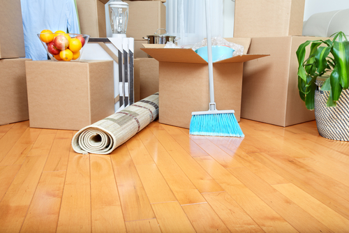 What is the best way to do a move out cleaning
