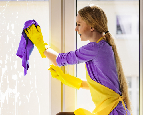 What should house cleaners clean