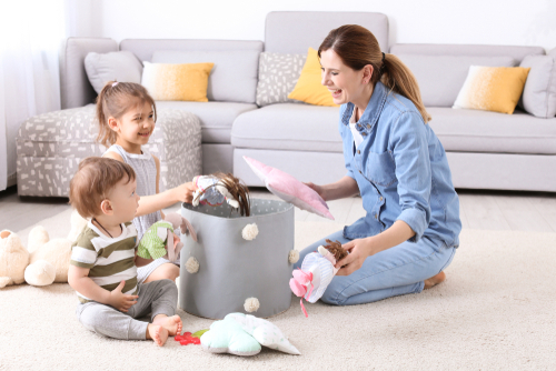 What are the age-appropriate chores for children